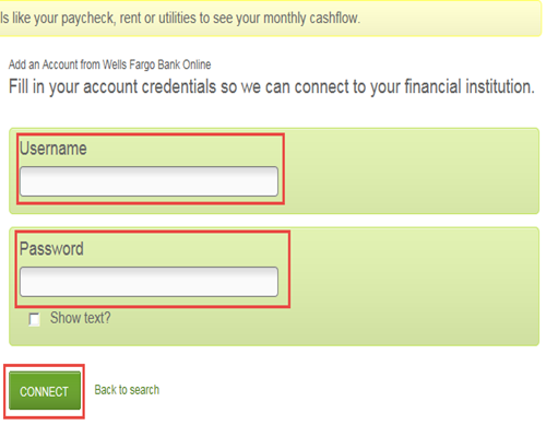 Add Account From Another Institution | My GreenInsights