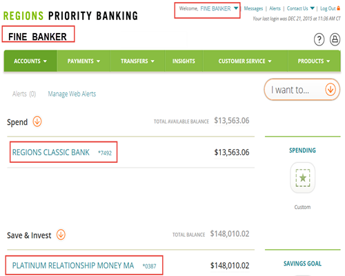how to enroll in online banking regions