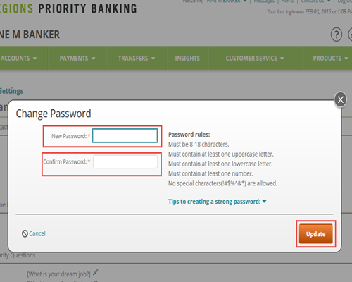 How to Change Your Online ID and Password | Regions