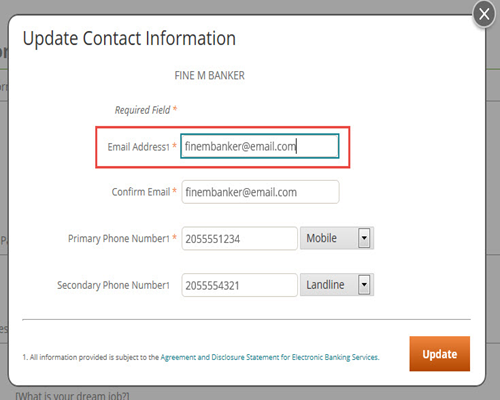 How to Change Your Email Address | Regions