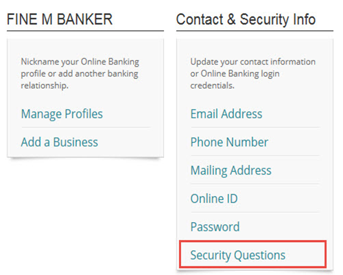 How to Edit Your Security Questions and Answers | Regions