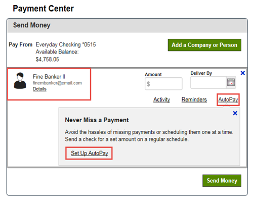 Safe Auto Bill Pay >> Set Up Automatic Payments Regions