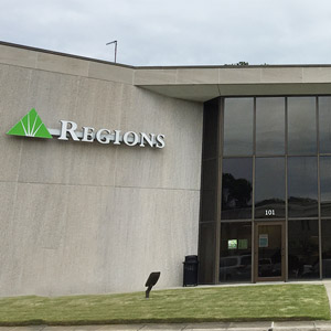 Regions Bank Mountain Brook Office Park in Birmingham