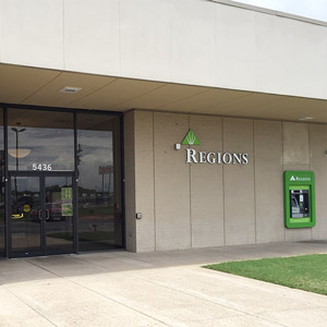 Regions Bank Tillmans Corner 5436 Hwy 90 in Mobile
