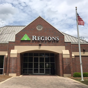 Regions Bank Oxmoor Valley in Birmingham