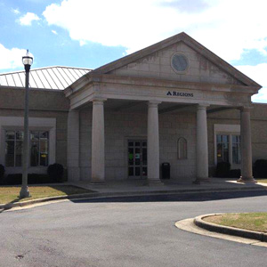 Regions Bank Madison St Huntsville in Huntsville