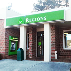 Regions Bank Redstone in Redstone Arsenal