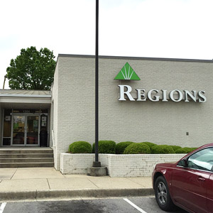 Regions Bank Forestdale Tomahawk Rd in Birmingham