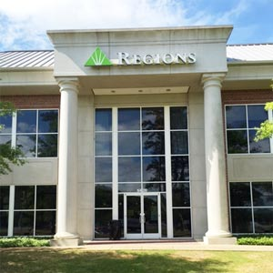 Regions Bank Greystone in Birmingham