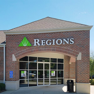 Regions Bank Trace Crossings in Birmingham