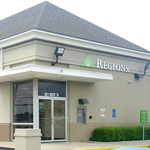 Regions Bank Westgate Enterprise Remote Drive Thru in Enterprise