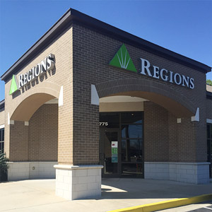 Regions Bank Dawes At Cottage Hill in Mobile