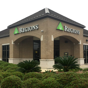 Regions Bank Dauphin Street in Mobile