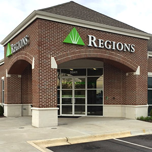 Regions Bank Tannehill Promenade in Bessemer