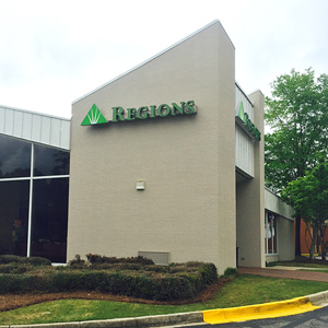 Regions Bank Hoover Patton Chapel in Birmingham