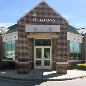 Regions Bank Galleria Hoover in Birmingham
