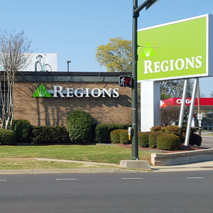 Regions Bank Five Points in Huntsville