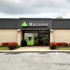 Regions Bank Glencoe in Glencoe