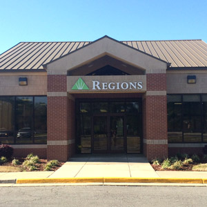 Regions Bank West Conway in Conway