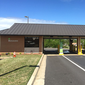 Regions Bank Morrilton Main Remote Drive Thru in Morrilton