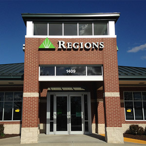 Regions Bank Bentonville 1409 S Walton Blvd in Bentonville