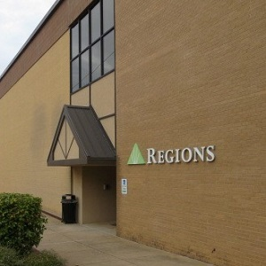 Regions Bank Russellville Main in Russellville