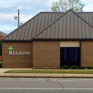Regions Bank Russellville Remote Drive Thru in Russellville