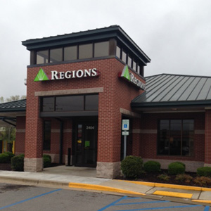 Regions Bank East Russellville in Russellville