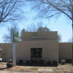 Regions Bank West Pleasure in Searcy