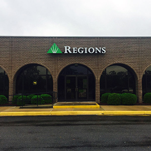 Regions Bank Constitution in Ashdown