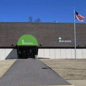 Regions Bank Forrest City in Forrest City