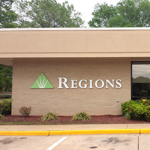 Regions Bank Industrial in Conway