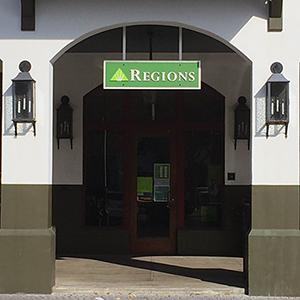 Regions Bank Rosemary Beach in Rosemary Beach