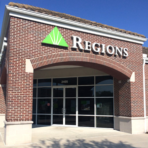 Regions Bank Hyde Park in Tampa