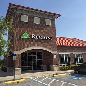 Regions Bank Carillon Town Center in St. Petersburg