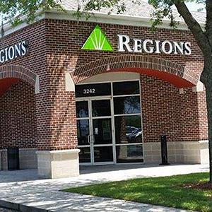 Regions Bank Mitchell Plaza in Trinity