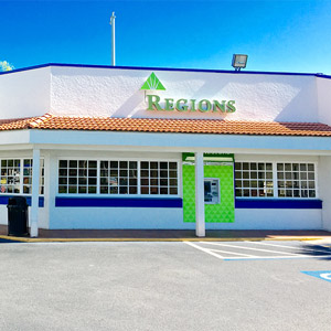 Regions Bank Isla Del Sol in St. Petersburg