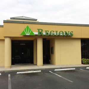 Regions Bank Temple Terrace in Tampa