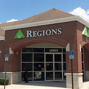 Regions Bank Bearss Ave in Tampa