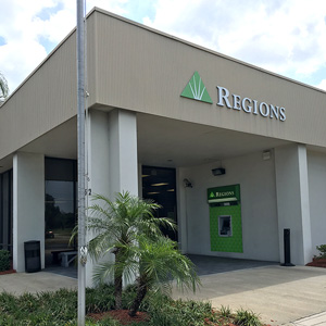 Regions Bank Gulf Highlands in Hudson