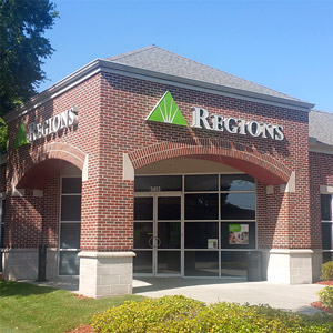 Regions Bank Mid City in St. Petersburg
