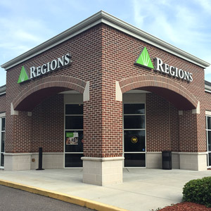 Regions Bank Indian Rocks in Largo