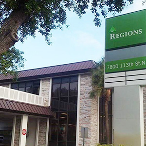 Regions Bank Seminole in Seminole