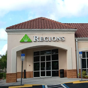 Regions Bank Lely Remote Drive Thru in Naples