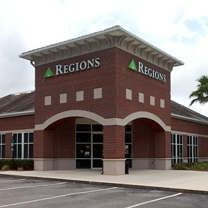 Regions Bank Villages Financial Center in The Villages