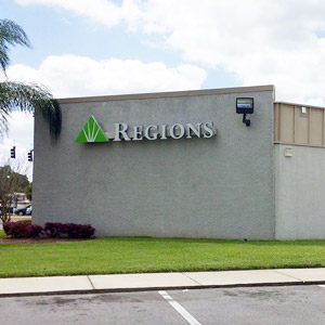 Regions Bank Brooksville in Brooksville