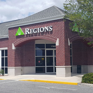 Regions Bank South Marion in Summerfield