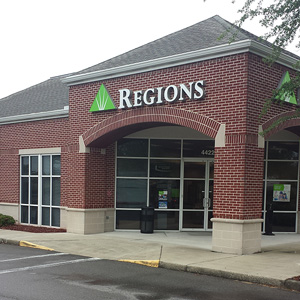 Regions Bank Deerwood Lake in Jacksonville