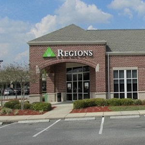 Regions Bank County Rd 210 in St. Johns