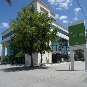 Regions Bank Winter Park Fairbanks Ave in Winter Park